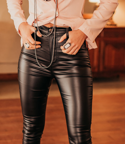 The Carson Leather Pants