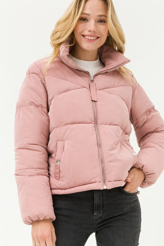 Snow Bunny Mini Puffer Jacket