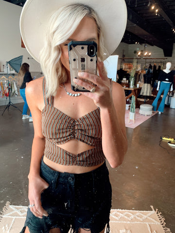 The Claire Crop Top