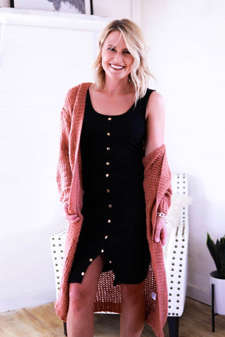 The Stacie Basic Fall Layering Dress