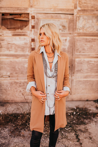 The Lucca Long Blazer