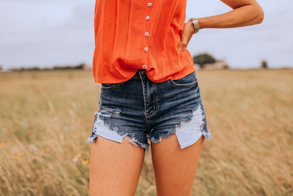 The Kileigh Cutoff Shorts