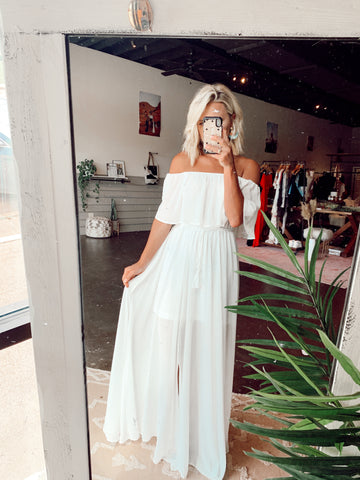 The Stellar Maxi in White