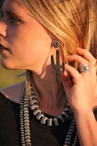 The Saguaro Large Earring