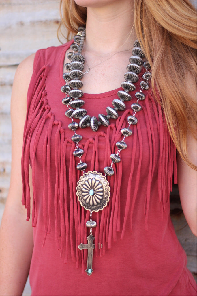 The Red Canyon Hills Necklace