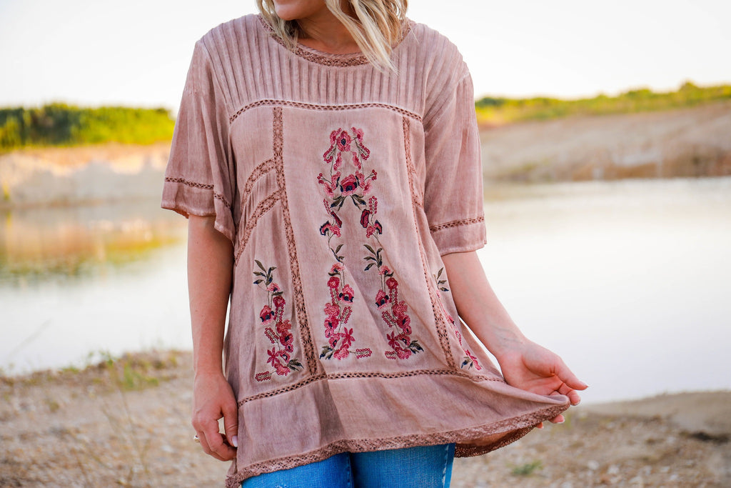 The Dolly Embroidered Tunic