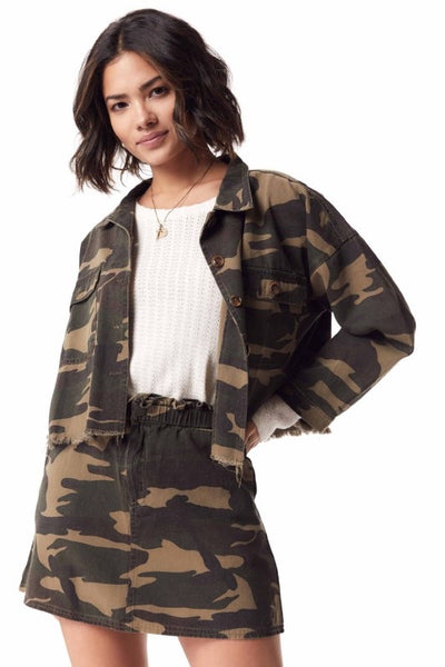 The Bailey Camo Cropped Jacket