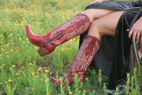 Tall Red Corral Boot PRE ORDER