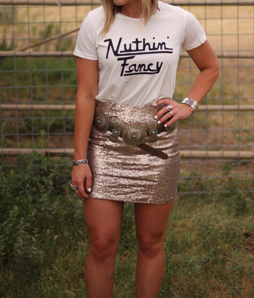 Nuthin Fancy Tee
