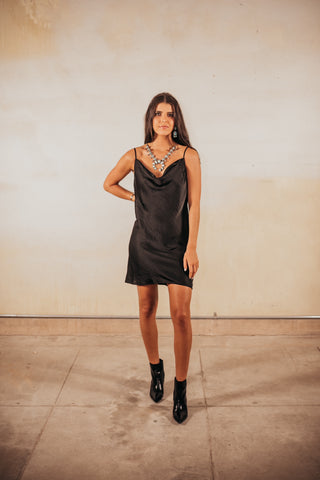 The Richie Satin Cami Dress