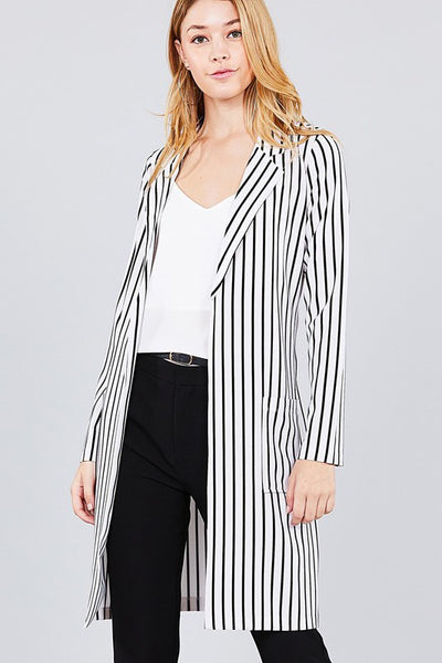 The Demi Long Blazer