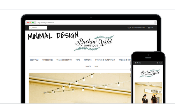 Buckin Wild Designs Website Set Up and Design