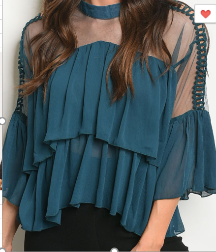 The Tealee Top