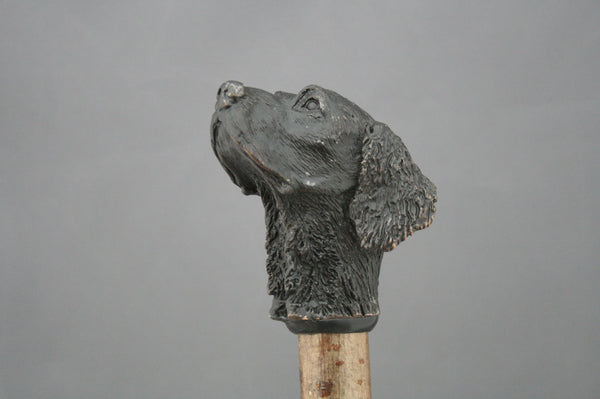 Spaniel Bronze walking/wading stick