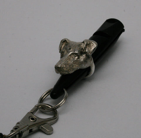 Jack Russel Silver Dog Whistle