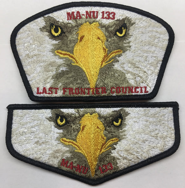 2019 MA-NU LODGE EAGLE SCOUT SET