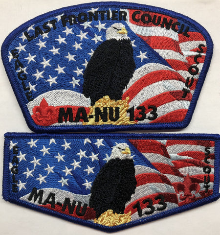 2020 MA-NU LODGE EAGLE SCOUT SET