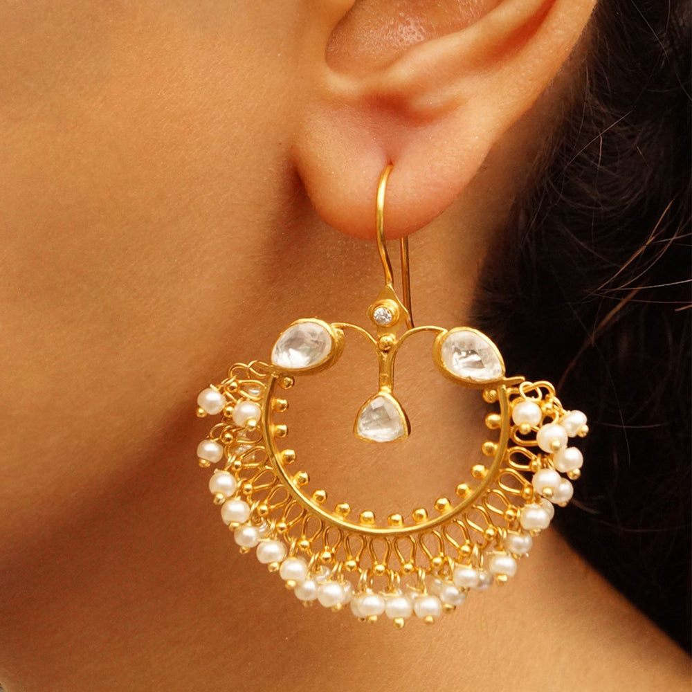 Traditional Cresent Earrings