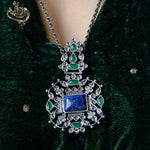 Load image into Gallery viewer, Saba Lapis Lazuli Necklace