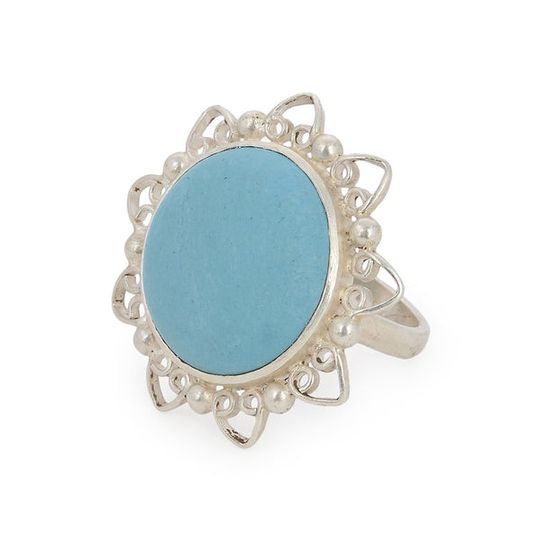 Turquoise Ring (Adjustable)