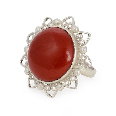 Coral Ring (Adjustable)