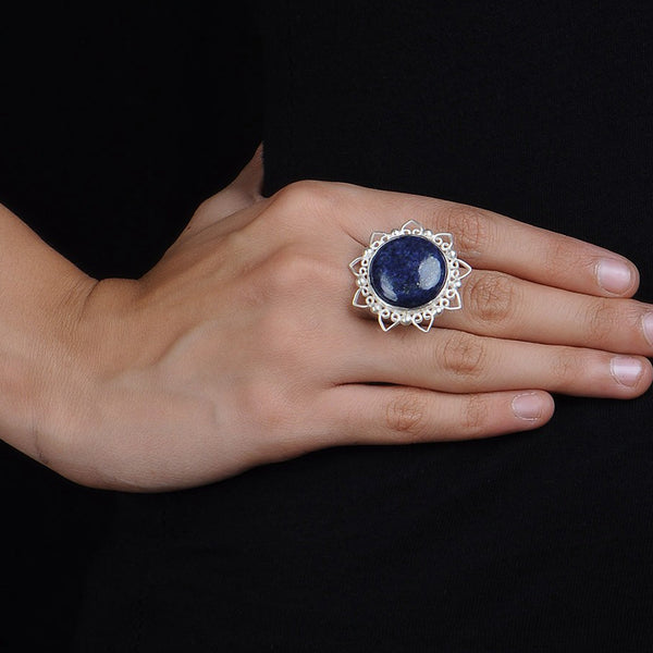 Lapis Lazuli Ring (Adjustable)