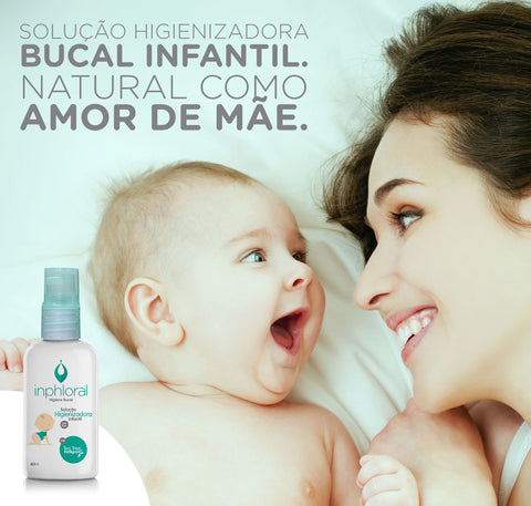 Spray Higiênico Bucal Infantil. INPHLORAL