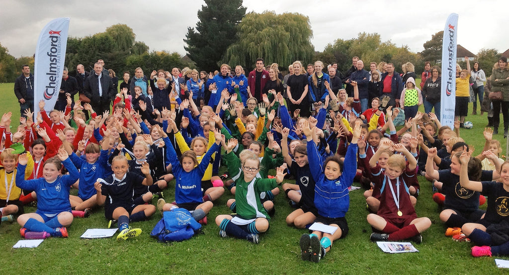 The Girls Football Tournament in Chelmsford!