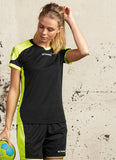Stanno Campione Women's Fit Football Shirt in action