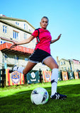 Hummel Sirius Women's Fit Football Shirt in action