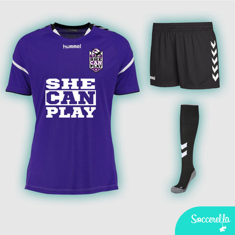 She Can Play Hummel Stay-Authentic Full Kit Junior
