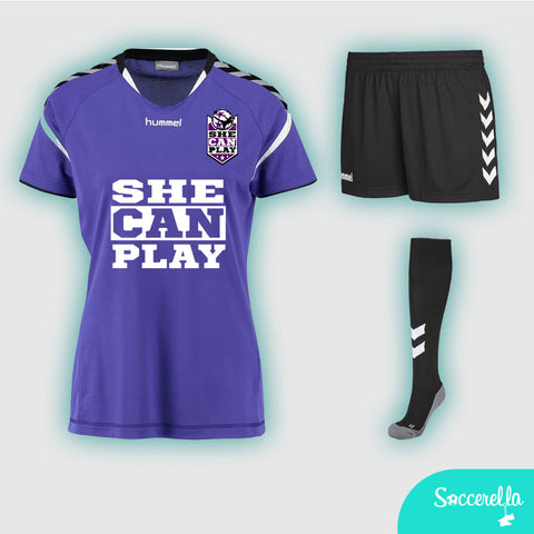 She Can Play Hummel Stay-Authentic Full Kit Womens