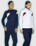Errea Florence Women's Fit Football Tracksuit in action