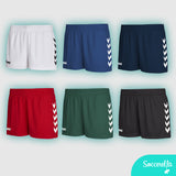Soccerella - Hummel Sirius Ladies Women's-Fit Football Shorts