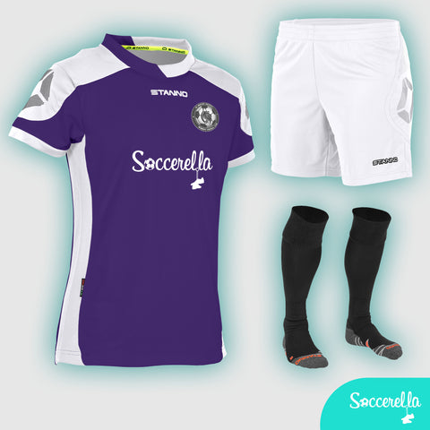 Soccerella - Stanno Campione Ladies Women's-Fit Football Kit
