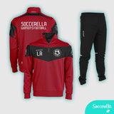 Soccerella - Stanno Fiero Unisex Football TTS Half Zip Training Top