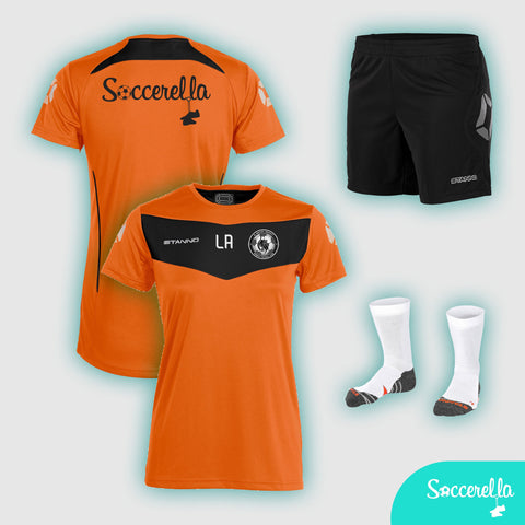 Soccerella - Stanno Fiero Ladies Women's-Fit Football Training T-Shirt
