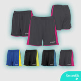 Soccerella - Stanno Milan Ladies Women's-Fit Football Shorts
