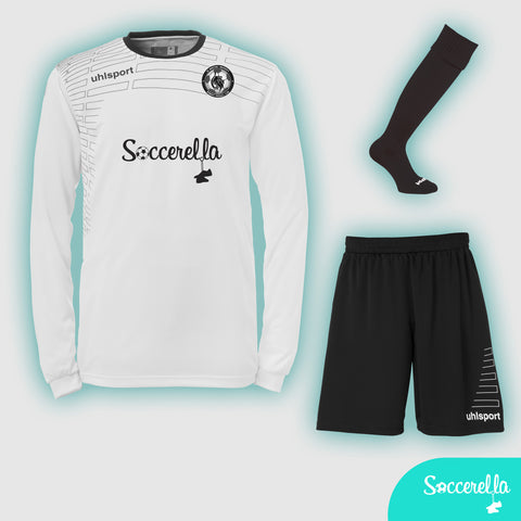 Soccerella - Uhlsport Match L/S Ladies Women's-Fit Football Kit
