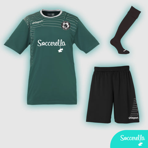 Soccerella - Uhlsport Match S/S Ladies Women's-Fit Football Kit