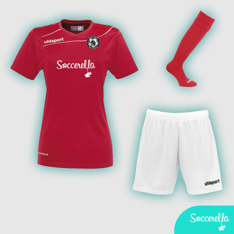 Soccerella - Uhlsport Stream 3.0 Ladies Women's-Fit Football Kit