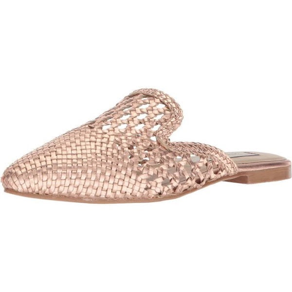 Camille Rose Gold Mule