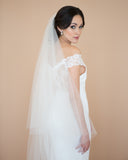Wedding Veil with Blusher