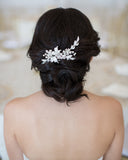 Floral Wedding Haircomb