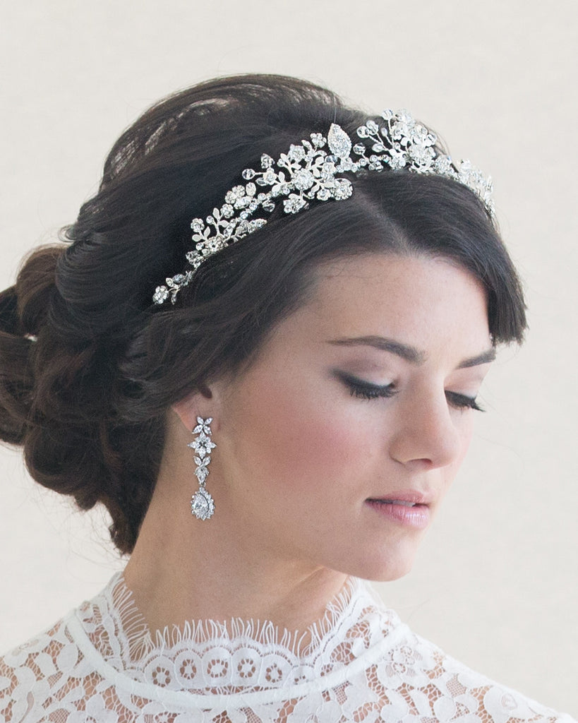Floral Wedding Hairpiece