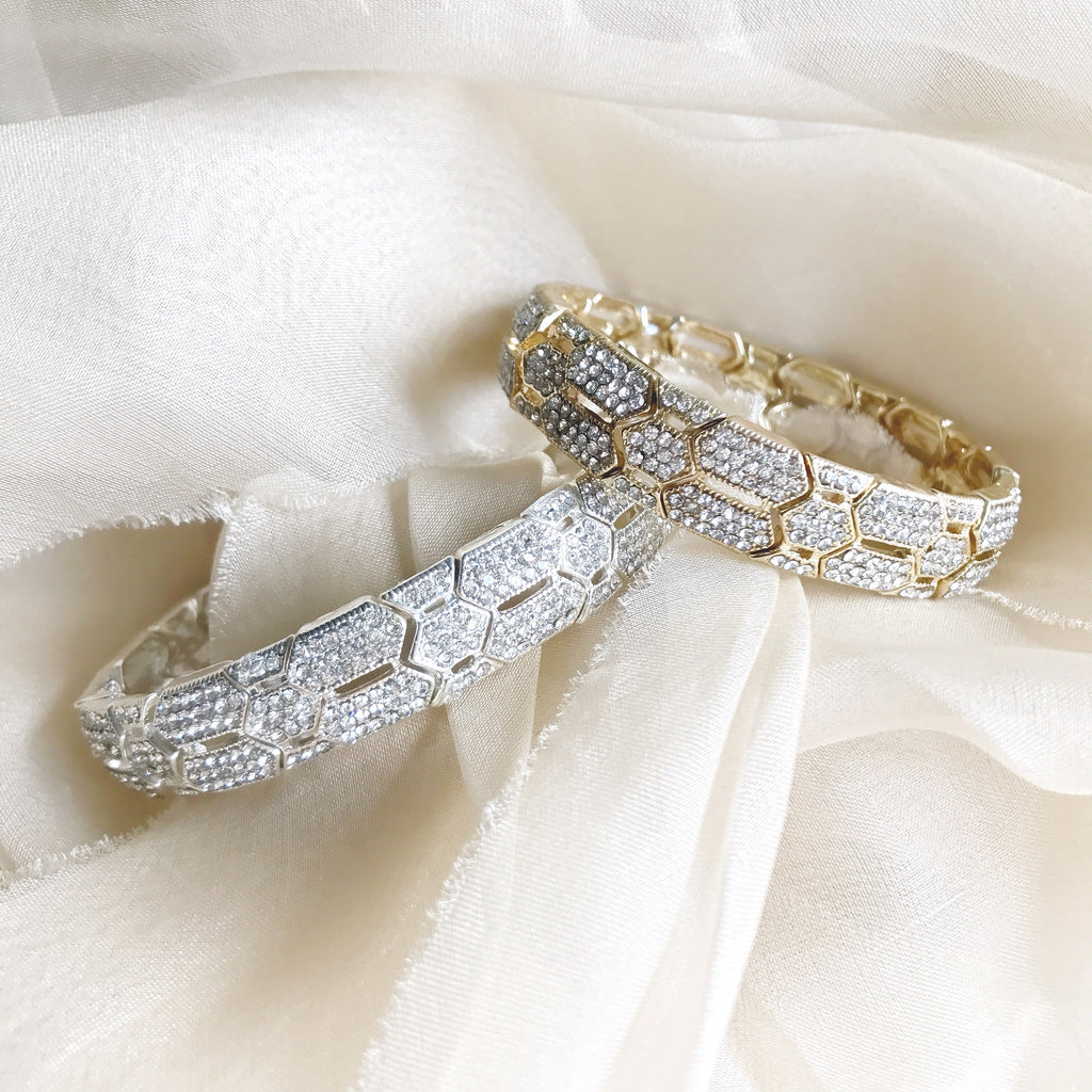 Gold Silver Bracelet for Wedding