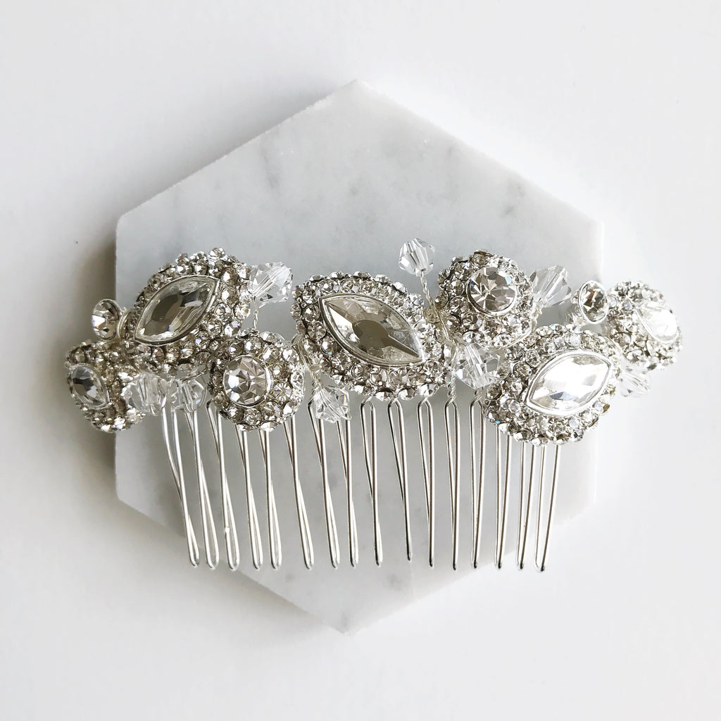 Crystal Haircomb for Wedding