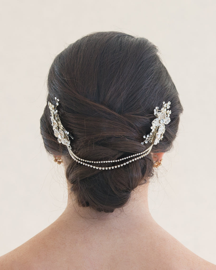Gold Bridal Hair Accessory