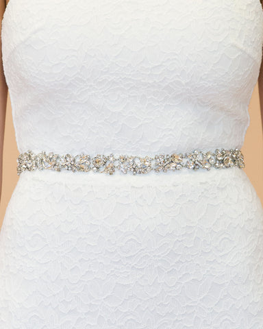 Ashland Crystal Bridal Belt