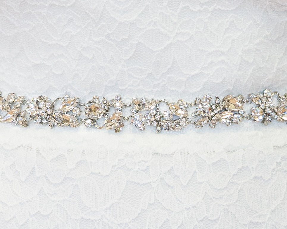 Madison Crystal Bridal Belt